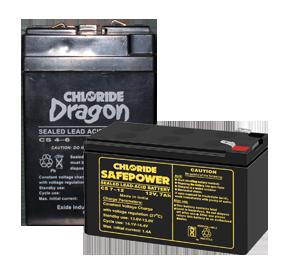 CHLORIDE SAFEPOWER & CHLORIDE DRAGON BATTERY